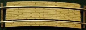 GCLaser Curved Grade Crossing Kit 18'' Radius Curve Fits Code 83 & 100 Rail pkg(2) HO scale #11275