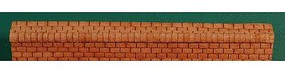 GCLaser Roof Ridge Cap (3-Tab) 20 Lineal Inch Coverage (Brown) N Scale #11314