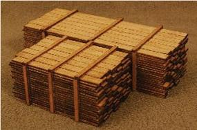 GCLaser 2 x 12 Lumber Load One Each 12 & 16 HO Scale #113313