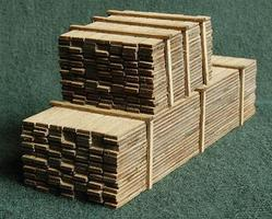 GCLaser 3 x 12 Lumber Load One Each 8 & 20 HO Scale Model #113315