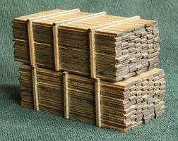 GCLaser 3 x 12'' Lumber Load 14' Loads (2) HO Scale Model Railroad #113318