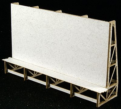 GCLaser Cube Billboard HO Scale Model Railroad Billboard Sign #116014