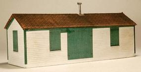GCLaser Shim Shed Laser-Cut Wood Kit HO Scale Model Railroad Building #1297