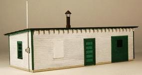 GCLaser Tool House Laser-Cut Wood Kit HO Scale Model Railroad Building #1298