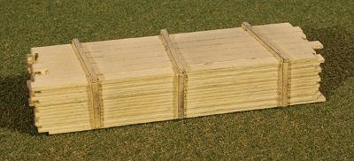 GC Laser 3 x 12'' Lumber Load Kit -- One Each 8' & 20' Loads -- N Scale Model -- #13311