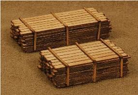 GCLaser 3 x 12 Lumber Load Kit One Each 12 & 16 N Scale Model Railroad Building #13313
