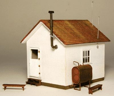 GC Laser West End Shack Kit -- HO-Scale Modle Building -- #1901