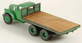 GCLaser Flat Truck Bed (Laser-Cut Wood Kit) HO Scale Vehicle Accessory #19045