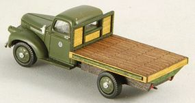 GCLaser Flat Truck Bed (Laser-Cut Wood Kit) HO Scale Vehicle Accessory #19049