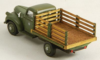 GC Laser Stakebed Truck Body - Laser-Cut Wood Kit - Fits Classic Metal Works 1941/46 Chevrolet -- #19050