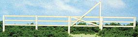 GCLaser 3-Slat Fence & Gate Kit 50 1.2m HO Scale Model Railroad Accessory #19086