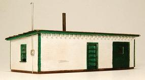 GCLaser Tool House Kit (Laser-Cut Wood) N Scale Model Railroad Building #298
