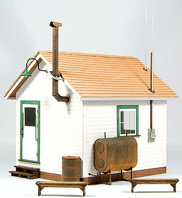 GCLaser West End Shack (Laser-Cut Mat Board Kit) O Scale Model Building #3901