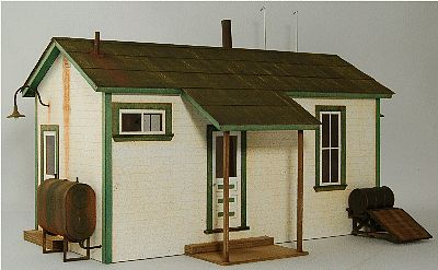 GC Laser Team Yard Office Kit -- O Scale Model Building -- #3909