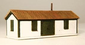 GCLaser Shim Shed Kit (Laser-Cut Wood) Z Scale Model Railroad Building #5297