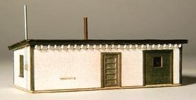 GCLaser Tool House Kit (Laser-Cut Wood) Z Scale Model Railroad Building #5298