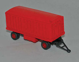 Gem-City Circus Trunk Wagon - HO-Scale