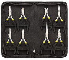 General-Hardware 8-Pc Mini Plier Case Set