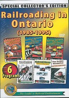 Greenfrog Railroading in Ontario 1985-1995 DVD Set 6-Disc Set