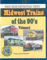 Greenfrog Midwest Trains of the 90's Volume 1, BluRay Format
