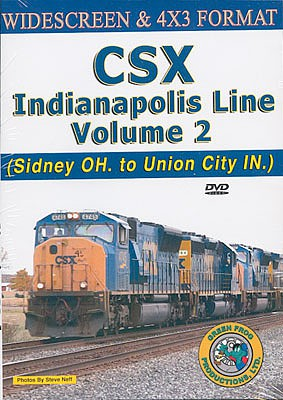 Greenfrog CSX Indianapolis Line - Sidney OH to Union City NJ Volume 2