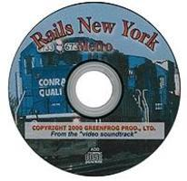 Greenfrog Rails New York Metro CD
