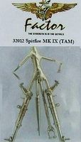 G-Factor Spitfire Mk IX White Bronze Landing Gear Plastic Model Aircraft Parts 1/32 Scale #32012