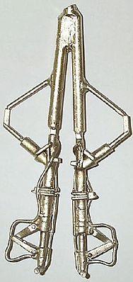F4U Corsair White Bronze Landing Gear for Trumpeter