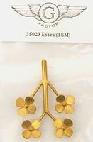 G-Factor USS Essex Brass Propellers for TSM (4) Plastic Model Ship Accessory 1/350 Scale #35023