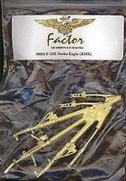 G-Factor F15E Strike Eagle Brass Landing Gear for Revell Plastic Model Aircraft Parts 1/48 #48011