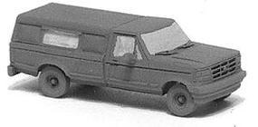 GHQ Pickup Truck w/Topper - N-Scale