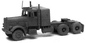 GHQ 359 Peterbilt Semi Tractor (Unpainted Metal Kit) N Scale Model Railroad Vehicle #52001