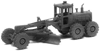 GHQ 120 Road Grader/Scraper (Unpainted Metal Kit) N Scale Model Railroad Vehicle #53005