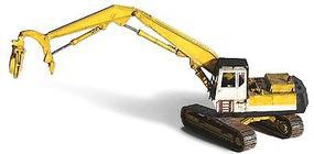 GHQ Komatsu Log Loader w/Heel Bottom (Unpainted Metal Kit) N Scale Model Railroad Vehicle #53012