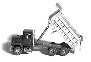 GHQ Ford 9000 Dump Truck Kit -- N Scale Model Railroad Vehicle -- #53013