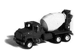 GHQ Ford 9000 Cement Truck (Unpainted Metal Kit) N Scale Model Railroad Vehicle #53015