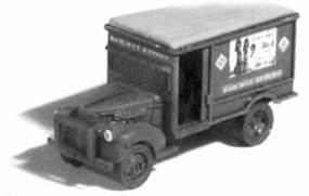 GHQ 1940 Chevrolet Railway Express Agency (Unpainted Metal Kit) N Scale Model Vehicle #56015