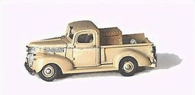 GHQ Chevrolet 1941 Pickup (Unpainted Metal Kit) N Scale Model Vehicle #57007