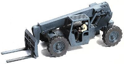 GHQ Gradall Material Handler w/Operator Figure (Unpainted Metal Kit) -- HO Scale Model Vehicle -- #61009