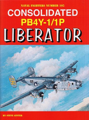 Ginter Books Naval Fighter- Consolidated PB4Y1/1P Liberator