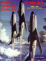 GinterBooks Air Force Legends- North America Sabre Jet F86D/K/L Pt.1 Military History Book #202