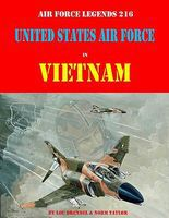 GinterBooks Air Force Legends- United States Air Force in Vietnam Authentic Scale Model Airplane Book #216