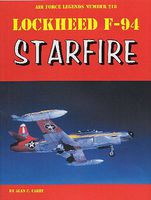 GinterBooks Air Force Legends- Lockheed F94 Starfire Military History Book #218