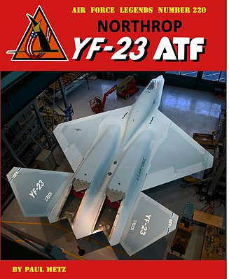 GinterBooks Air Force Legends- Northrop YF23 ATF