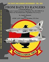 GinterBooks US Navy Squadron Histories- From Bats to Rangers A Pictorial History of Electronic Countermeasures/Fleet Air Recon Sq. Two (ECMRON2)/(VQ2)