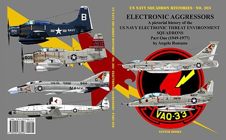 GinterBooks US Navy Squadron Histories- Electronic Aggressors US Navy Electronic Threat Environment Sq. Part 1 1949-1977