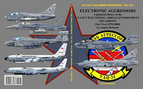 GinterBooks US Navy Squadron Histories- Electronic Aggressors US Navy Electronic Threat Environment Sq. Part 2 1978-2000