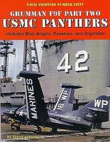 GinterBooks Naval Fighters- Grumman F9F Pt.2 USMC Panthers Military History Book #60