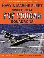 GinterBooks Naval Fighters- Fleet & Marine F9F Cougar Fighter Squadrons Military History Book #69