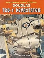 GinterBooks Naval Fighters- Douglas TBD1 Devastator Military History Book #71